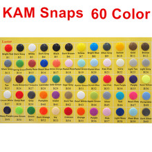 Chengkai 1000sets T 5 Size 20 Round KAM Plastic Resin Snaps Buttons fasteners Parts for DIY Baby Diaper 60 color option