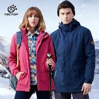 Модные зимние куртки мягкой оболочки Двойка Термальность Для мужчин wo Для мужчин вниз лайнер пальто Водонепроницаемый ветрозащитный Спорт