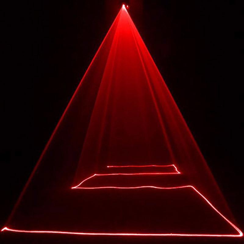 Remote 200mw RED Stage Lighting Effect DMX512 Scanner Stage Light Laser Proje