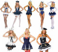 Hot White Sailor Costume Women Erotic Seaman Costume Female Tutu Sailor Role Playing Clothing Attractive Halloween cosplay Dress