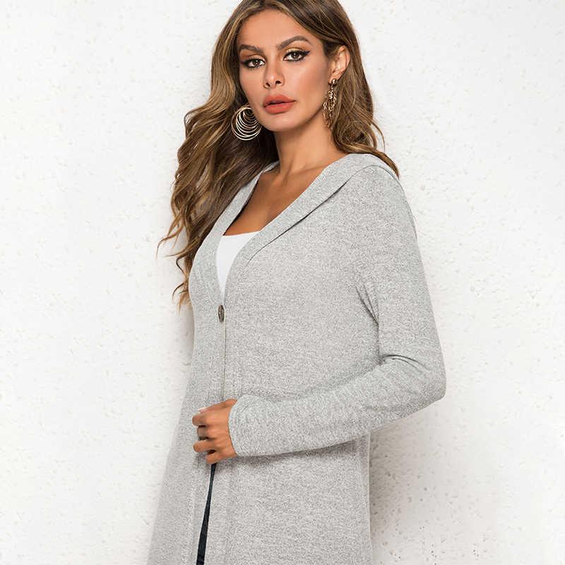 봄 여름 솔리드 캐주얼 스웨터 긴 소매 여성 슬림 맞는 카디건 2019 한국어 카디건 코트