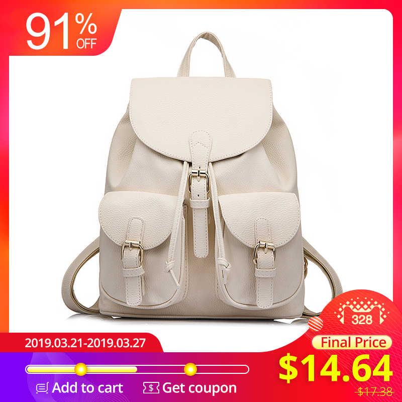 c20be1c95bcb LOVEVOOK рюкзак женский школьный для девочек подростков женские рюкзаки из  искусственной кожи PU высокого качества дамские