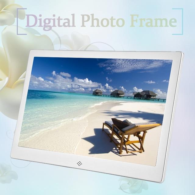Digital Photo Frame 12inch HD TFT LED 1280 * 800 Aluminium Alloy ...