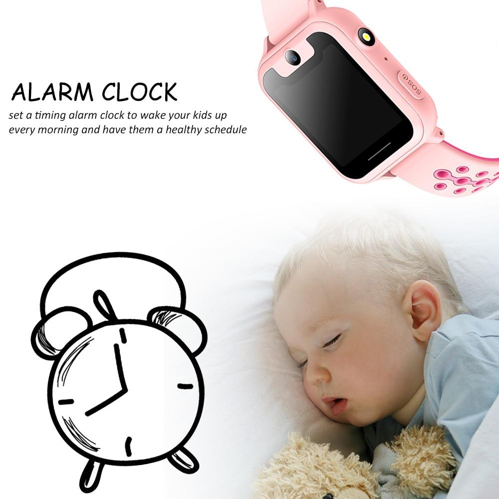 En gros 2019 nouvelle montre intelligente localisateur Tracker Anti-perte de sécurité SOS LBS bébé montre téléphone pour IOS Android enfants jouet cadeau - 6