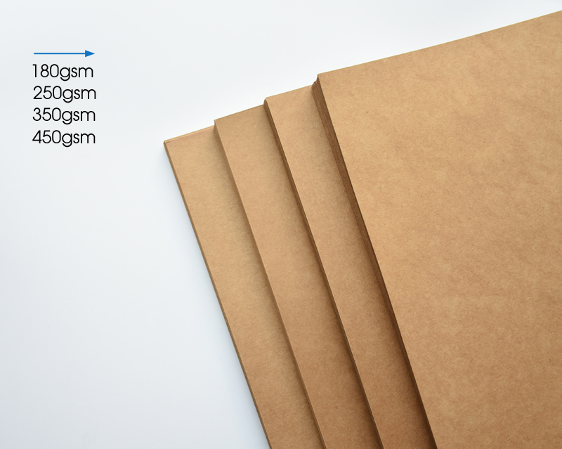 коричневая бумага Kraft; лист А4 ; лист бумаги А4 ; карта бумага;