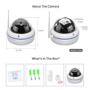 Image 5 - ANBIUX caméra de surveillance extérieure IP Wifi hd 2MP, anti vandalisme, 1080P 720P, P, Vision nocturne, anti vandalisme, port SD et application Yoosee