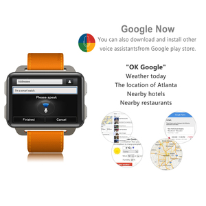 Image 2 - LEM4 Pro 2.2 Inch Screen 3G Smart Watch Android 5.1 GPS WIFI 1GB + 16GB 1200Mah Big Battery Bluetooth Smartwatch For Men Women