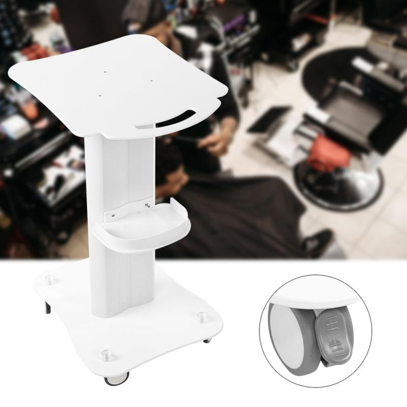 цена на PVC Beauty Salon Trolley Salon Use Pedestal Rolling Cart Wheel Aluminum Stand for Skin Care beauty equipment hairdresser salon