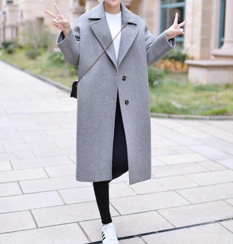 Online Buy Wholesale long brown wool coat from China long brown