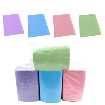 One Pack Disposable Drape Tattoo Medical Dental Spa Towel Patient Bibs Drape No Lace-Up Type Scarf фото