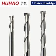 1 шт. 3,175 мм SHK деревообрабатывающие Фрезы с ЧПУ 2 флейты спиральные концевые фрезы двойная флейта Фрезы спиральные фрезы ПВХ