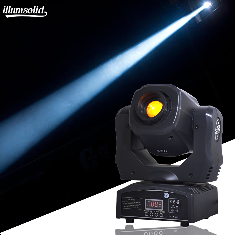 high quality LED Inno Pocket Spot Mini Moving Head Light 60W DMX 7 gobos effect stage