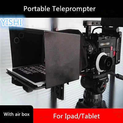 YISHI 15 inch Folding Portable Version of The Teleprompter