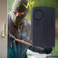 New Professional Wireless Vibration Alarm System Home Security Door Window Car Motorcycle Anti-Theft Detector TS-860 Hot Sale!