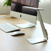 Small Desk Lamp 3 Modes Fashion Ultra Thin LED USB Charging Desk Lamp Smart Touch Eyes