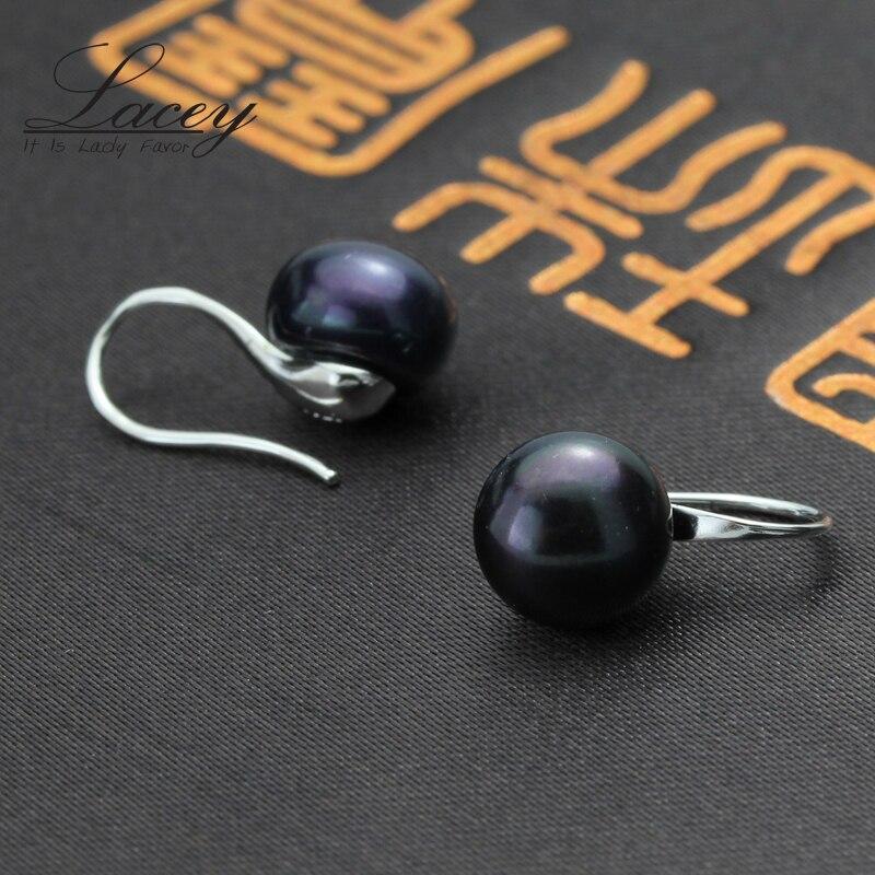 100% ægte perle øreringe, ferskvandsperle øreringe til kvinder - Smykker - Foto 2