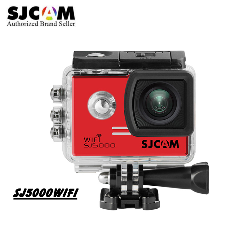 Original SJCAM SJ5000 WiFi Action Camera 1080P Full HD Sports DV 2.0 inch Diving 30M Waterproof mini Camcorder helmet Cam kamera
