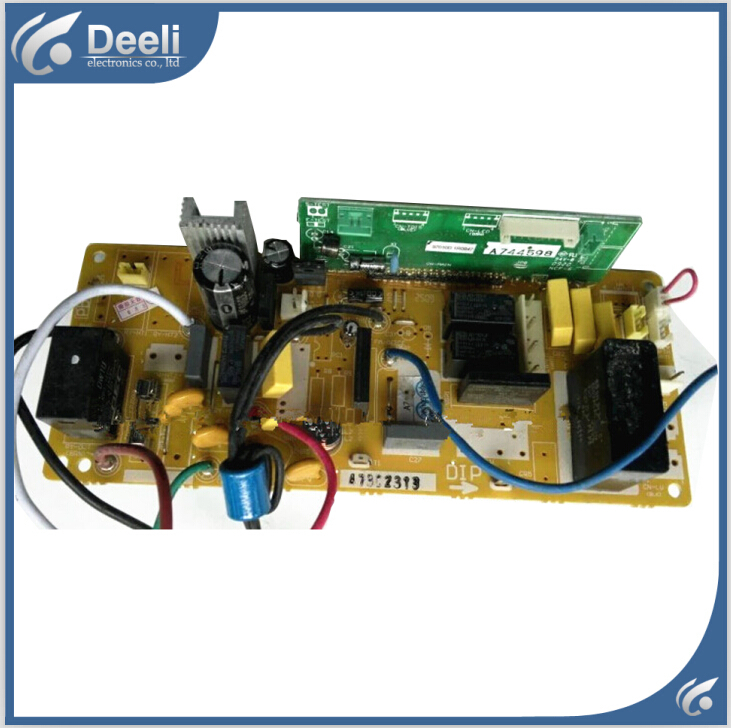 95% new good working for Panasonic air conditioning motherboard A73C2312 A73C2313 A744598 7 pc board control board on sale 100% tested for washing machines board xqsb50 0528 xqsb52 528 xqsb55 0528 0034000808d motherboard on sale