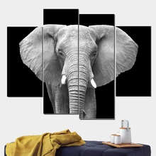 Elephant Home Decor Wall Poster Vintage Canvas Painting Prints Art Print Decorative Pictures Pop