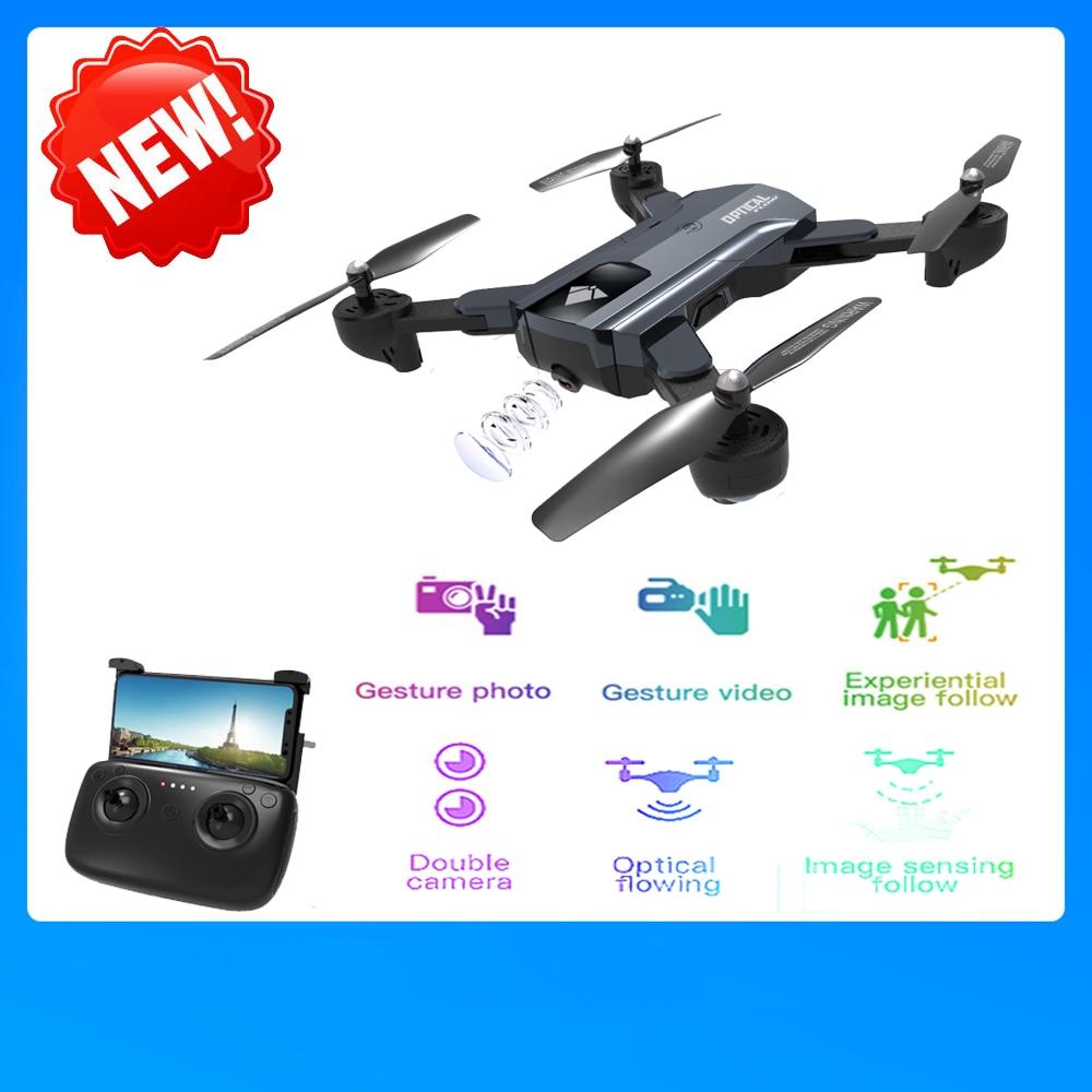 SG900 RC Drone con la Macchina Fotografica 720 P Wifi FPV RC Quadcopter Flusso Ottico Gesto Colpo Follow Me Fly 22 minuti il Mantenimento di quota E58 F196 X12