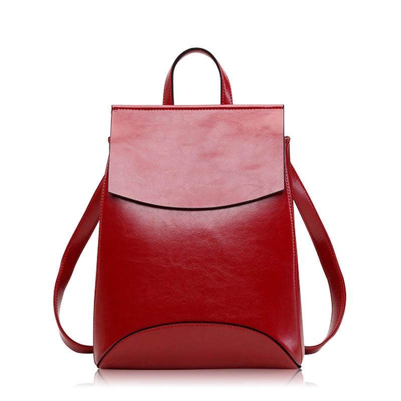 Bolsas de Couro Bolsas do Vintage Nova Moda Feminina Mochila Genuíno Designer Luxo Senhoras Alta Qualidade Mochilas Famosa Marca 2020