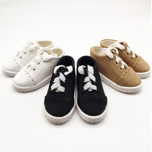 1Pair Hot 1/3 1/4 BJD Doll Shoes Three Colors Casual For