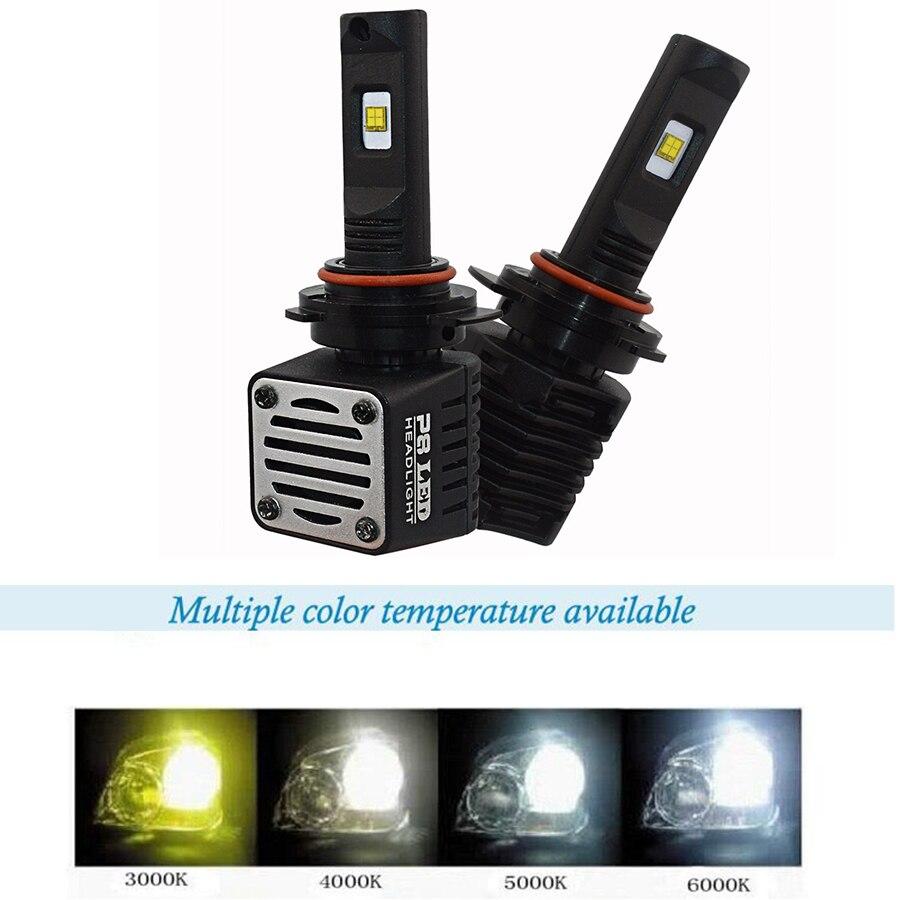 Auto LED Phare Ampoule P8 40 w 3000 4000 5000 6000 D1 D2 D3 D4 H8 H9 H11 H16 HB3 h10 9005 HB4 9006 H7 9012 ps X 24 w PSX26W