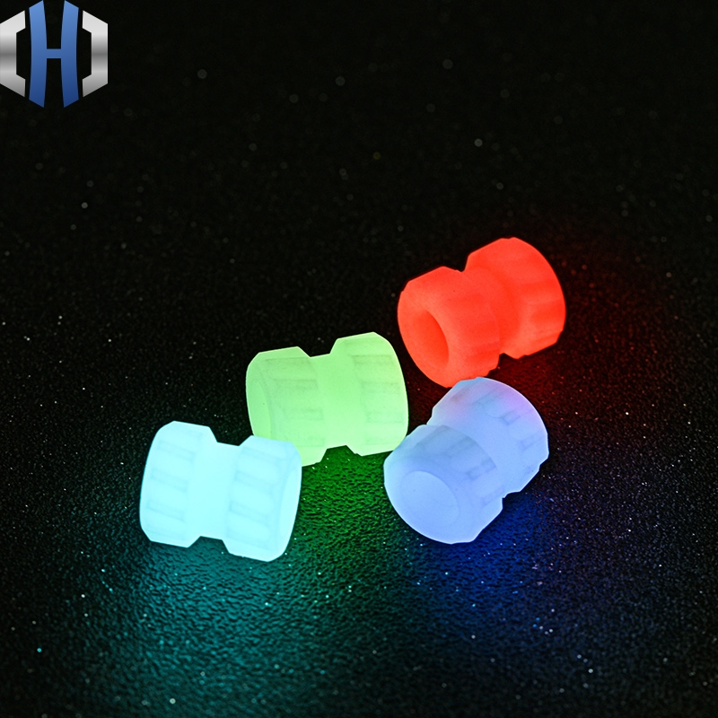EDC DIY Paracord Beads Fluorescent Pendant Luminous Material Knife Pendant Mechanical Thread Knife Beads in Knives from Tools
