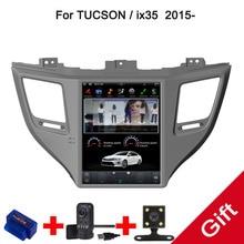 10,4 «Тесла Тип Android 7,1/6,0 Fit HYUNDAI TUCSON IX35/TUCSON 2015 2016 2017 2018-dvd-плеер автомобиля навигация GPS радио