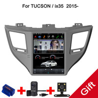 10.4 Tesla Type Android 7.1/6.0 Fit HYUNDAI TUCSON IX35/TUCSON 2015 2016 2017 2018 Car DVD Player Navigation GPS Radio