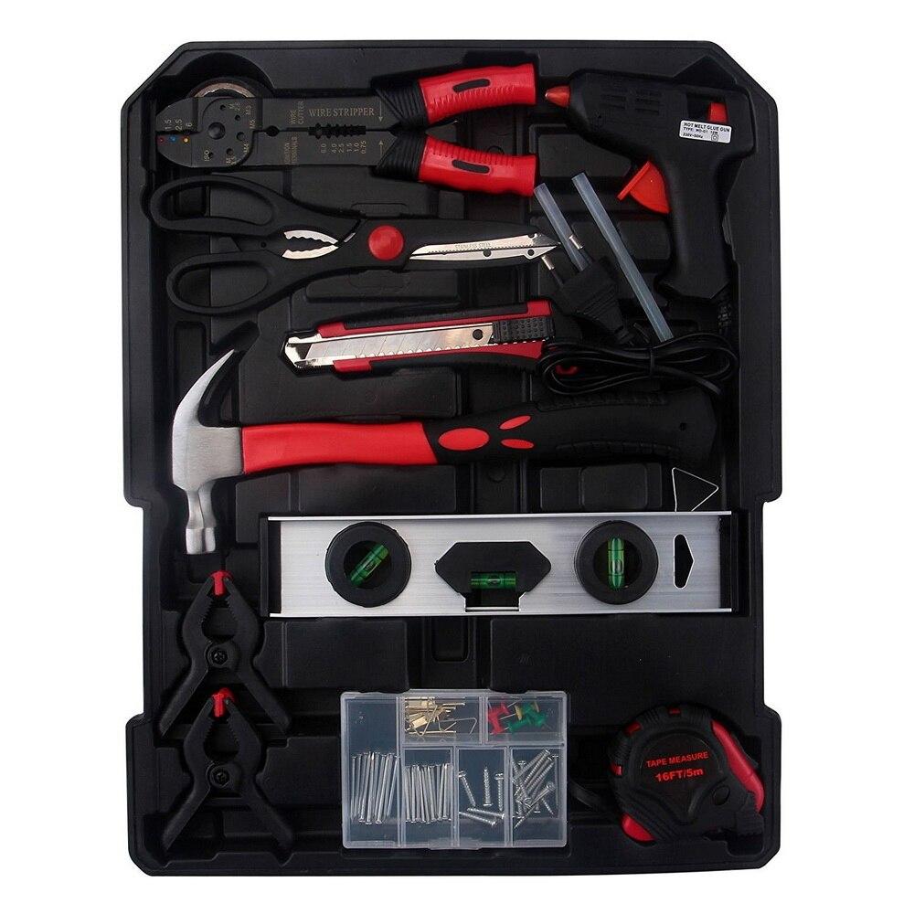 ONS 799 Pcs Hand Tool Set met Rollende Gereedschapskist Metric Dopsleutel Hand Tool Kit Storage Case Dopsleutel schroevendraaier Mes - 3