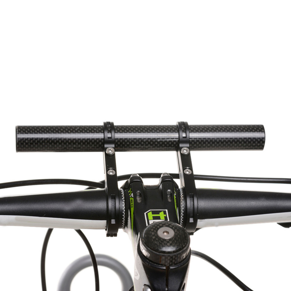 20CM Bicycle Flashlight Holder Handlebar Bicycle Accessories Extender Bracket TD DE