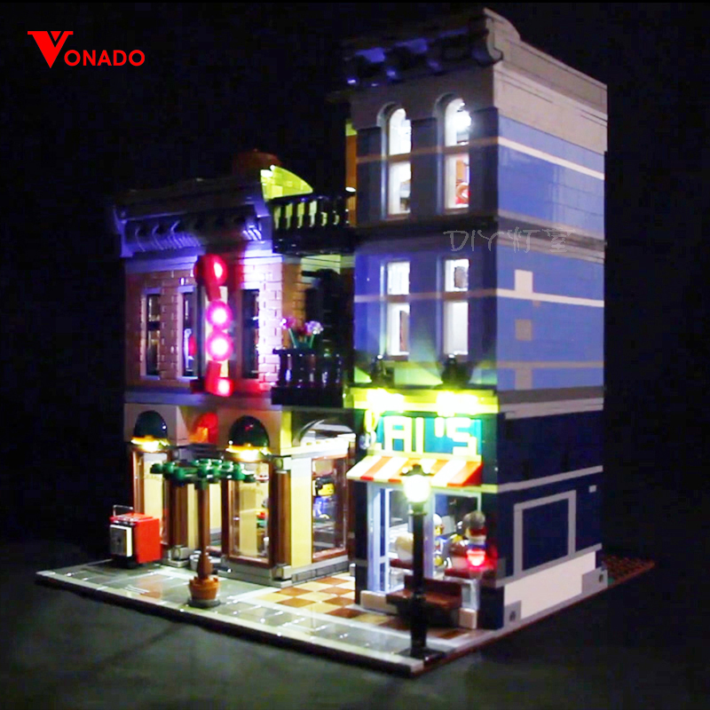Led Light For Lego 10246 Building Blocks Creator City Street Detective s Office Compatible 15011 only