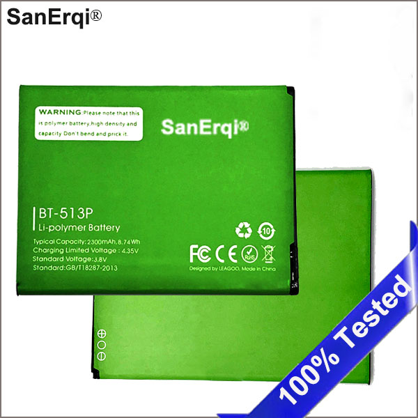 For <font><b>Leagoo</b></font> <font><b>M5</b></font> Battery BT-513P 2300mAh Batterie <font><b>Bateria</b></font> image