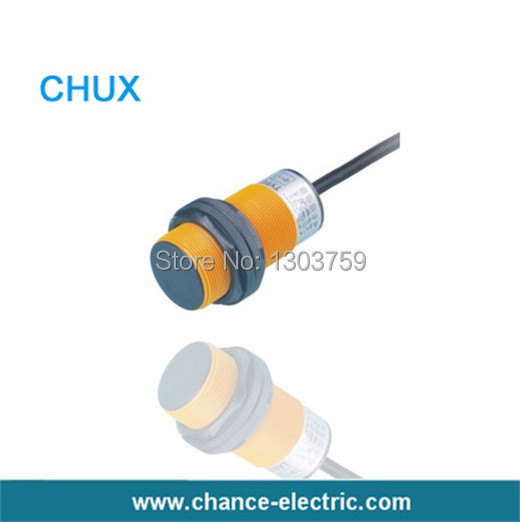 Free shipping M38 inductive non-FLUSH motion 18mm LED detect distance resin NPN NO+NC proximity Sensor Switch (IM38-18-DNC)  872c d5np18 d4 inductive proximity sensor with free dhl