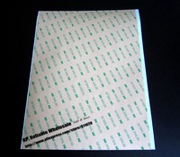 BIG Like A4 Size 210mm 290mm Super Strong Bond 3M 300LSE Double Adhesive Sticker For Smooth