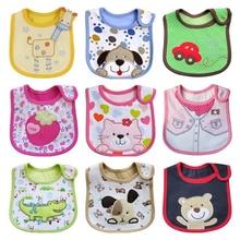 Hot Sale Newborn Bibs Baby Waterproof  Bib Baby Clothing Kids Apron Saliva Tower Baberos