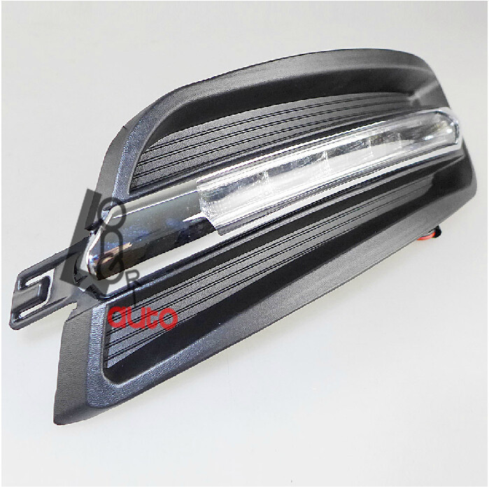car styling ABS material 6000K-6700K LED Daytime Running Light for  nissan teana 2010-2012 nokia 6700 classic illuvial