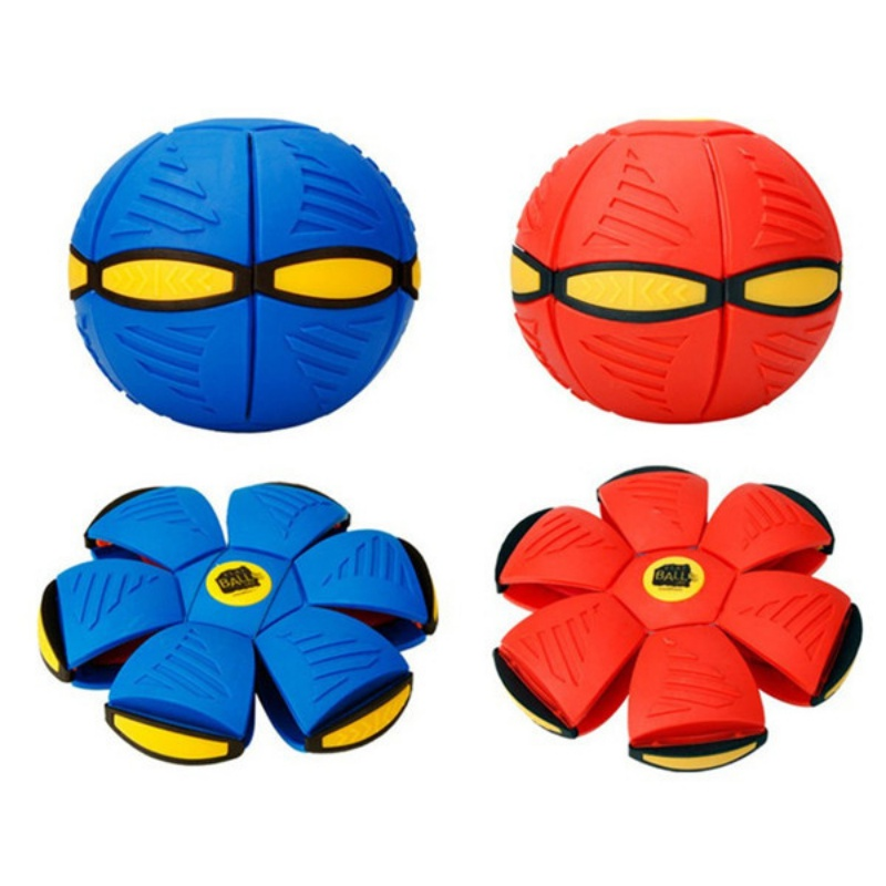 Anti-stress Kids Toy Ball UFO Style Step Ball Vent Ball Deformation Outdoor Toys Children's Christmas Gift