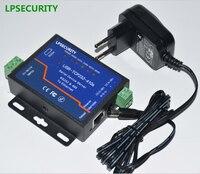 4pcs per lot LPSECURITY SERIAL RS232 RS485 Ethernet Converter Serial Ethernet to Modbus Converter module server