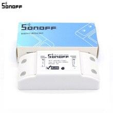 SONOFF módulo de automatización de Control remoto para teléfonos inteligentes Apple, enchufe inalámbrico con Wifi, 10A, 220V, 20 uds.