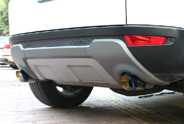 Replacement Parts Interior Accessories For Range Rover Evoque Grilled Blue Stainless Steel Exhaust Systems End Tail Pipe On Aliexpress Alibaba Group: Evoque Exhaust System At Woreks.co