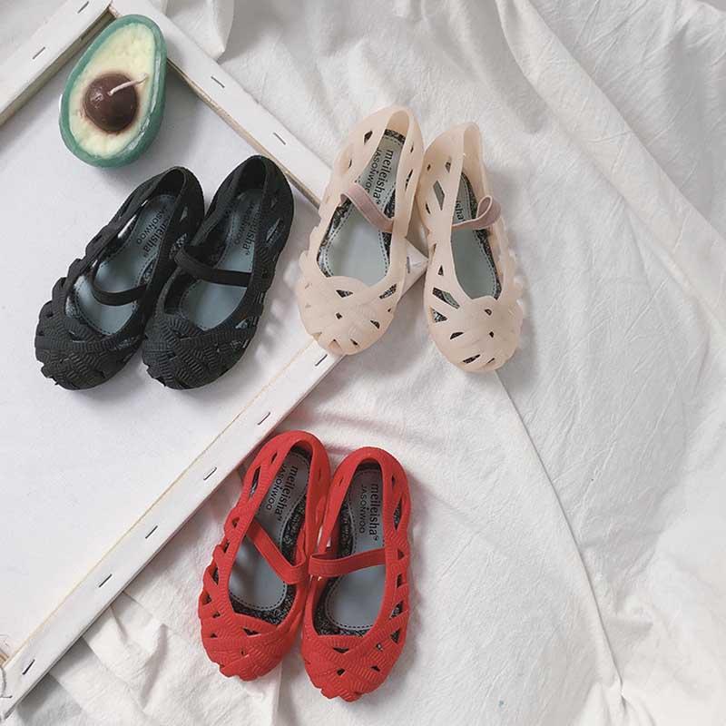 MILANCEL Summer  Beach Girls Sandals Kids Shoes Baby Girl Sandals Mini Melissa Sandals For Girls Jelly Shoes