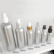 1pcs 30ml-250ml aluminum Storage bottle Spray  Lotion lotion fine mist hairdressing small spray BQ018