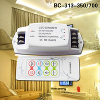 BC 313 700 DC12 48V high performance C&T controller 700mA*2channels LED Color Temperature Controller RF Remote CT controller