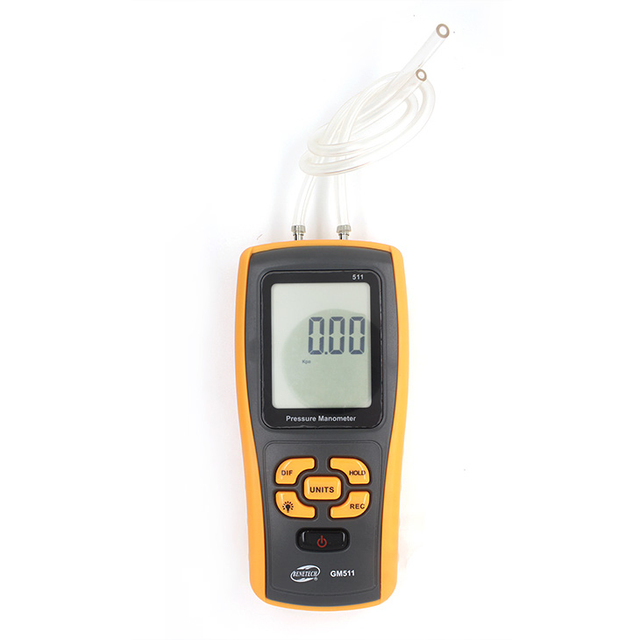gas manometer. gm511 differential pressure measurement device gas manometer gauge high m