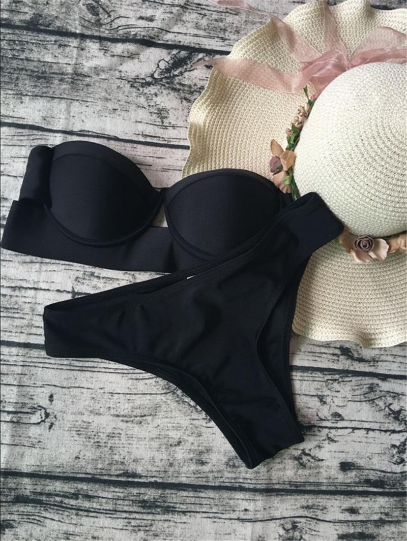 HTB1coUZaPnuK1RkSmFPq6AuzFXak sexy leopard bikinis 2019 women swimwear women bandage swimsuit push up bathing suit maillot de bain femme thong biquinis