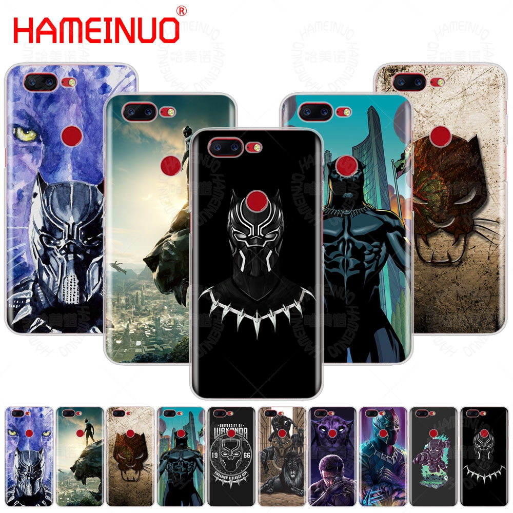 HAMEINUO Marvel Comics Black Panther cover phone case for Oneplus one plus 5T 5 3 3t 2 X A3000 A5000