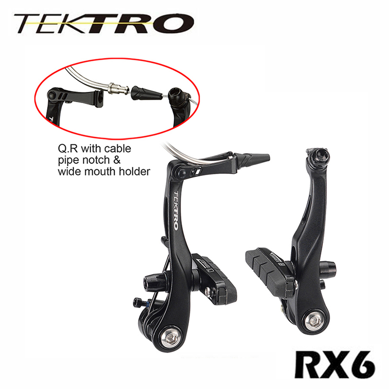 TEKTRO Cyclocross vélo de route RX6 étrier de frein poids léger 144g/roue V étrier de frein avec mécanisme de dégagement rapide