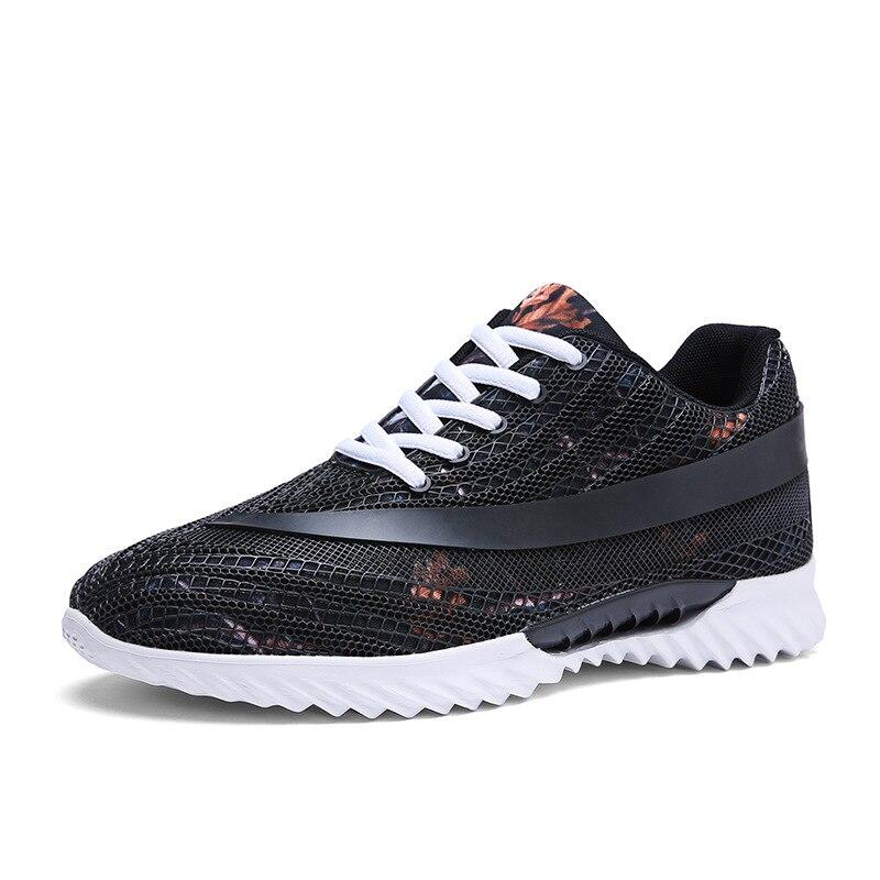 Man Shoes Soft-Sneakers Comfortable Flat Large-Sizes Pria Sepatu Huaraches Men